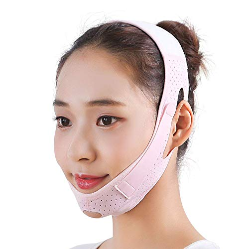 Face Lifting Belt, Double Chin Reducer, Facial Intense Lifting Slim Belt Double Chin Strap, Skin Care Chin Lifting Firming Strap Reducing Belts for Women