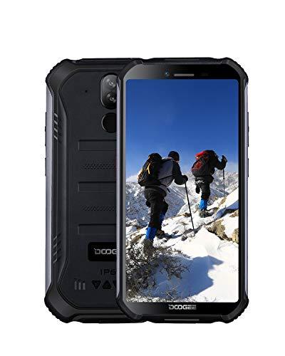DOOGEE S40 Lite Android 9.0 Rugged Smartphone in Offerta, 3G Dual SIM Cellulari Telefoni IP68 Impermeabile, 2GB + 16GB 5.5' Pollici, Fotocamera 8MP+5MP, 4650mAh, Impronta Digitale Faccia ID, Nero
