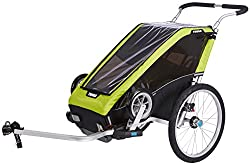 thule chariot baby camping gear for exploring around campground and naps