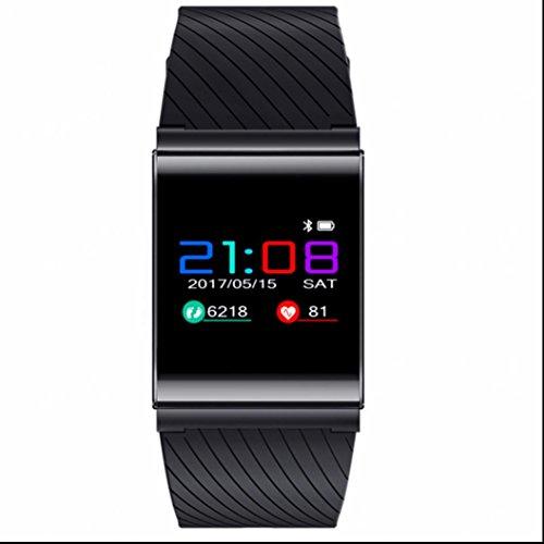 Fitness Tracker Smart Wristband Bracelet Kalorienzähler Herzfrequenzmessung Fitness Tracker Aktivitätstracker täglich wasserdicht Leben wasserdicht Fitness Armband für Android Smartphone Samsung HTC Sony LG iPhone