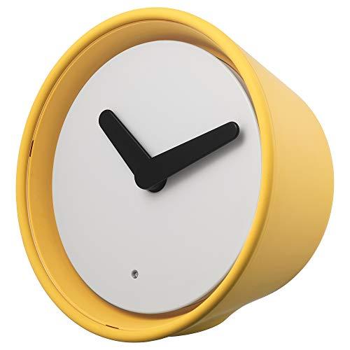 Ikea Stolpa Uhr, gelb, Größe 5, 204.003.80
