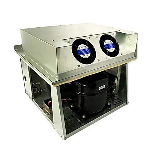 HEQIE-YONGP Controlador de Temperatura Digital Máquina expendedora compacta Unidad de enfriamiento de la Cubierta del compresor VCU-01M-12 (Style : Cooling Unit VCU-01M-12)