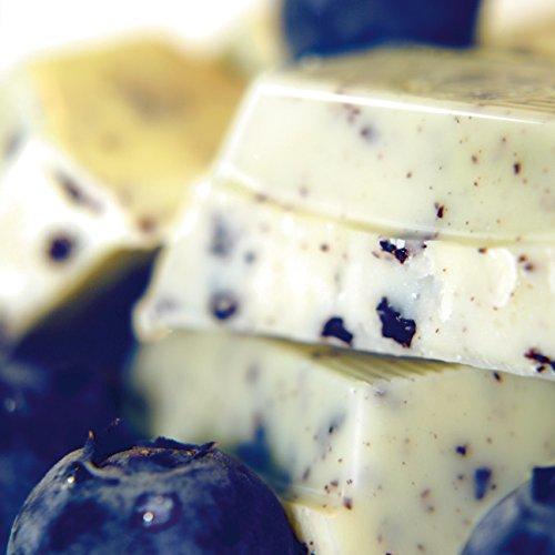 Shokomonk - weiße Schokolade - Blaubeere 50 g