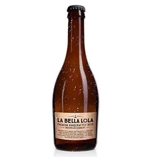 Cerveza Artesana La Bella Lola - Mediterranean Pale Ale 4º - (24 botellas x 330ml)