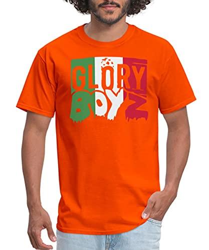 Spreadshirt Glory Boyz Italy MP Men's T-Shirt, 3XL, Orange
