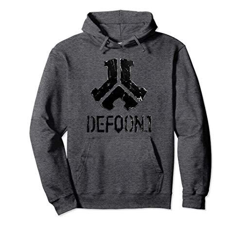 Defqon.1 Metal Black | Hardstyle Gabber Speedcore Terrorcore Pullover Hoodie