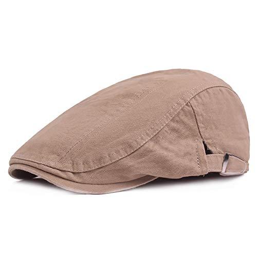 2019 Hat, gevoerde pet voor heren, van katoen, vlak platform, verstelbaar, verkoop van kranten Gatsby Irish Hat 55-60 cm