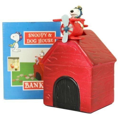Peanuts Snoopy Red Barron - Banco para niños con forma de cerdito