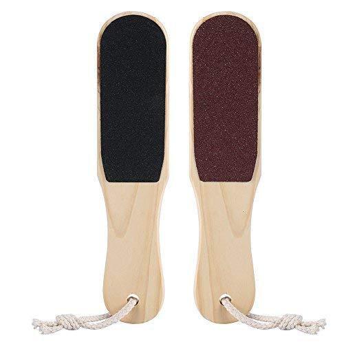 ANGGREK Pied Rasp File Callus Dead Skin Cuticle Remover Pedicure Scrubber Double-end Pedicure Foot File Callus Remover for Corns Dead Skin Cracked Ski