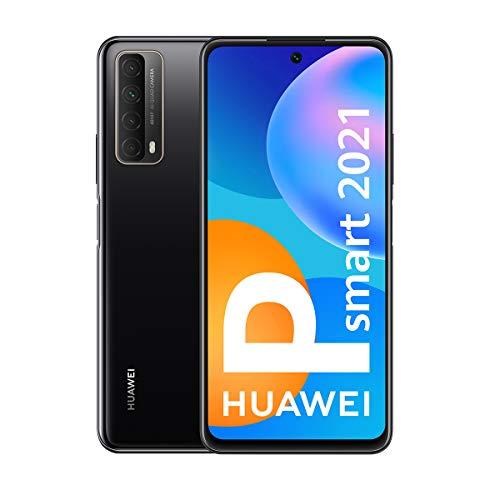 Huawei P smart 2021 - Smartphone 128GB, 4GB RAM, Dual Sim, Midnight Black