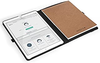 GRIFITI Dootle iPad Pro 12.9 Folio Book Case Two Stylus Loops, Folding Cover, Writing Notepad Reversible for Righties and Lefties