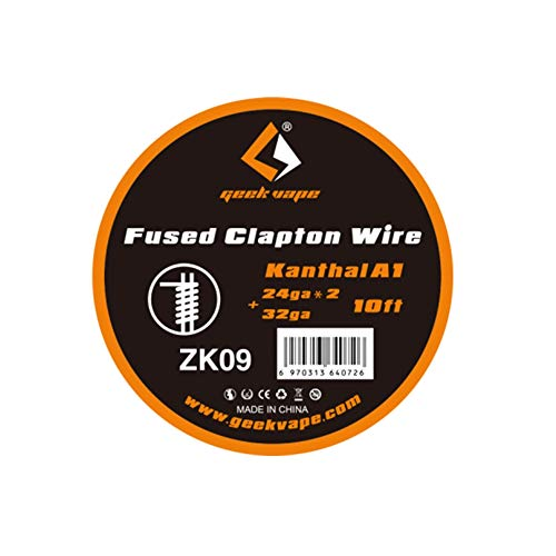 Geekvape 10feet Kanthal A1 Fused Clapton Heating Coil Resistance Wire Filo di resistenza