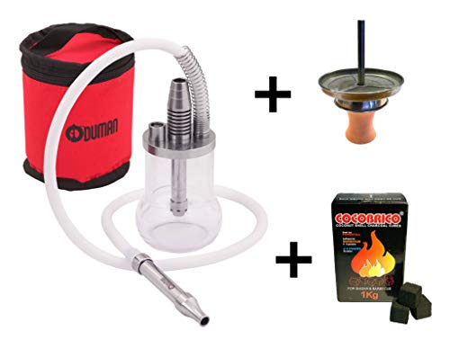 Oduman Shisha Micro (Oduman Micro + Atom Kaminset + Cocobrico 1kg)