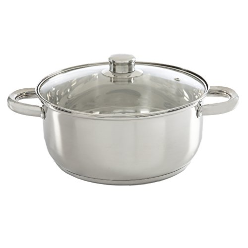Ecolution Dutch Oven with Vented Tempered Glass Lid...