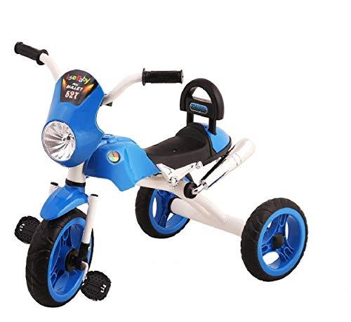 JoyRide Bullet Trike Push Bike Baby Ride On Bike for 2-5 Year Old Boys Girls Kids and Toddlers First Bike Birthday Gift (Blue)