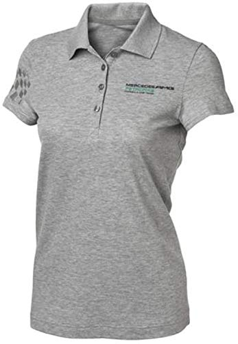 Mercedes AMG Petronas Damen Womens Polo Pique, Grau, XS