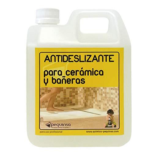 Liquido antideslizante para suelos cerámicos y gres. Envase 1 litro.