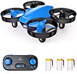 SNAPTAIN SP350 Mini Drone for Kids/Beginners, Portable Throw'n Go RC Quadcopter with 3