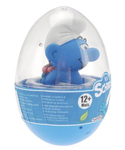 Die Schlümpfe - Kunststoff Figur im Ei, ca. 7 cm, Motiv