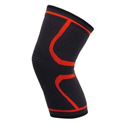 DODOING Knie Bandagen Knieschoner für Sport, Gelenkschmerzen und Arthrose - Kompressionsbandage für Laufen, Radfahren, Wandern, Joggenund die alltägliche Nutzung - für Männer und Frauen