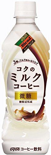 ダイドードリンコ ダイドーブレンド コクのミルクコーヒー 微糖 430ml ×24本 [2531]