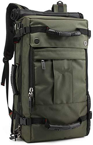 Schoudertas Bagage Cabin Sport Duffel Holdall Rugzak Student Bag Hiking Bag,Army coffee