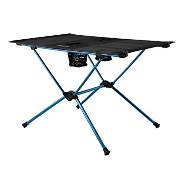 Helinox Table One Camp Table: Black/Blue
