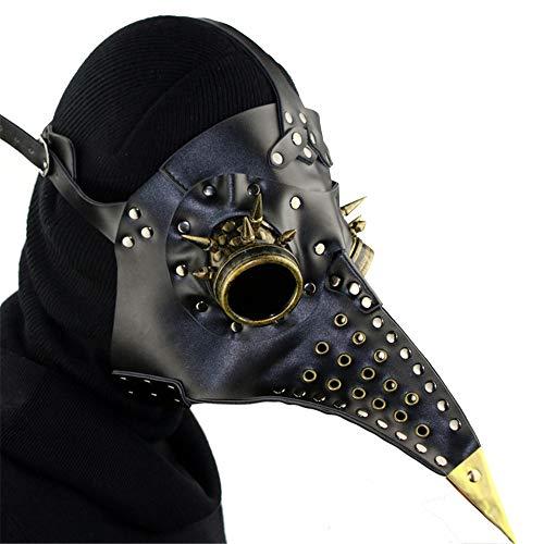 QAR Steampunk pest snavel masker Halloween rekwisieten Gift Gamepad