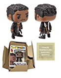 Funko Pop Black Panther ERIK KILLMONGER Pop - Black Panther Funko Pop Erik Killmonger with Scars...