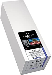 Canson Rag Photographique 100% Cotton Rag, Ultra Smooth White Matte Inkjet Paper, 210gsm, 17