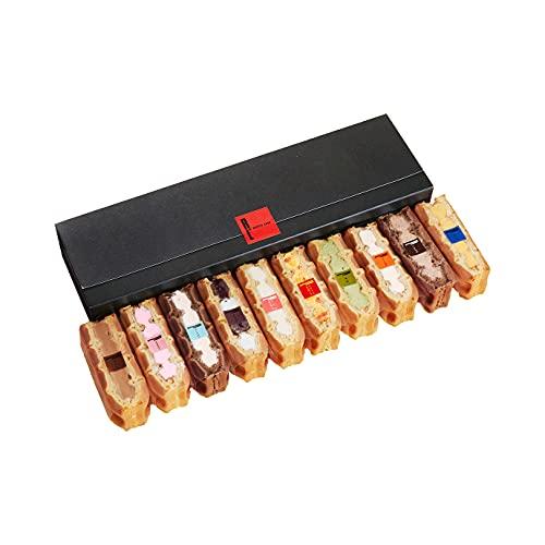エール・エル ワッフルケーキ 父の日 スイーツギフト 冷凍タイプ 10個入り 詰め合わせ