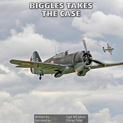 Biggles Takes the Case cover art