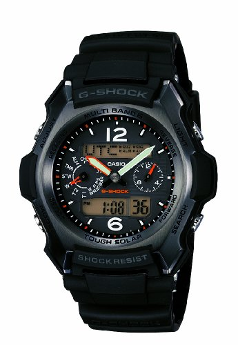 Casio Men's GW2500B-1A G-Shock G-Aviator Chronograph Sport Watch
