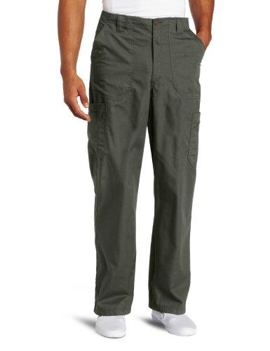 Carhartt Men's Ripstop Multi-Cargo Scrub Pant, Olive, Medium