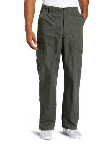 Carhartt Men's Ripstop Multi-Cargo Scrub Pant, Olive, X-Large
