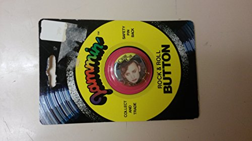 Culture Club Boy George Pin Back by Jammin' Rock & Roll Button
