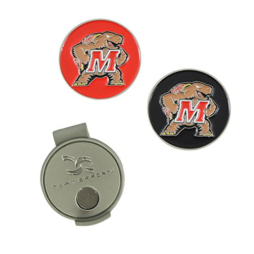 Team Effort Maryland Terrapins Hat Clip & 2 Ball Markers
