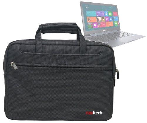 Navitech schwarzes Case/Cover/Tasche für Laptops/Notebooks und Tablet PC's für das Samsung Ativ Book 9 Plus