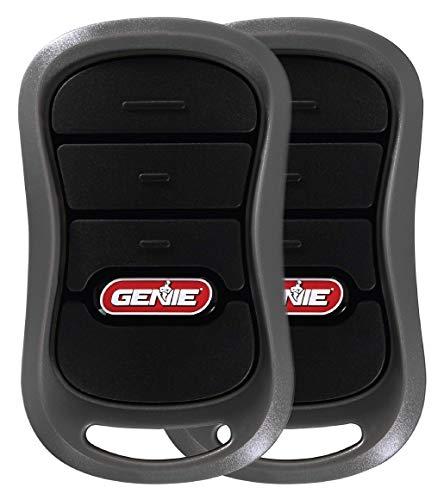 Genie 3-Button Garage Door Opener Remotes (2 Pack) - Each Remote Controls Up To 3 Genie Garage Door Openers -Compatibility Only With Genie Intellicode Garage Door Openers - Model G3T-R