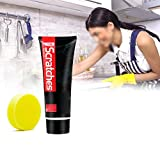 ScratchFree Stove Top Scratch Remover - Cooktop Heavy Duty Cleaner and Polish - Non-Abrasive No Scratch Induction Glass Ceramic Stove Top Cleaner and Polish - Multipurpose Cooktop Cleaner