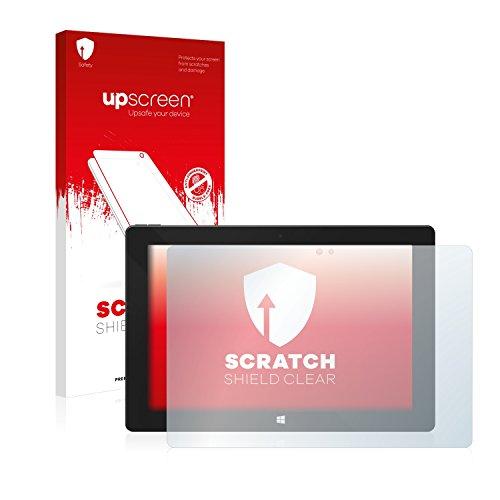 upscreen Schutzfolie kompatibel mit One Xcellent 10 – Kristallklar, Kratzschutz, Anti-Fingerprint