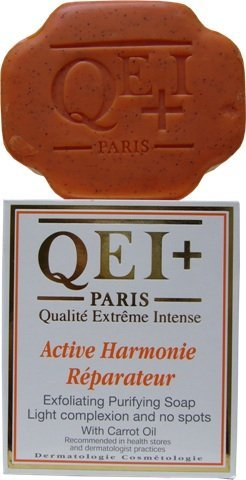 QEI+ PARIS ACTIVE HARMONIE REPARATEUR EXFOLIATING PURIFYING SOAP WITH CARROT OIL 200ml by QEI+