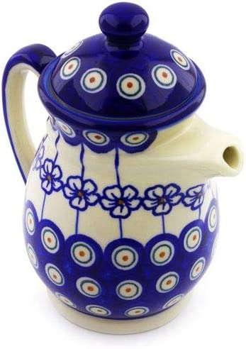 BRT-Style Polish pottery 15 oz. 15638-15 with pitcher lid Max 45% OFF Model Los Angeles Mall