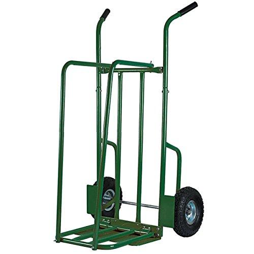 Ribiland PRCPB250 Carrello Portalegna, Portata 250 kg, Verde