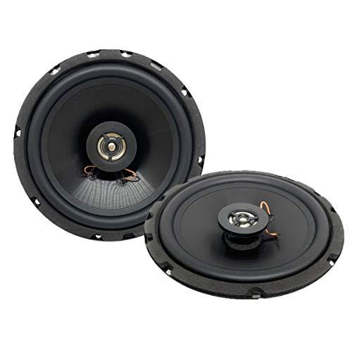 Sound Way - Haut-parleurs Enceintes 2 Voie 16,5 cm 120 Watts pour Voiture
