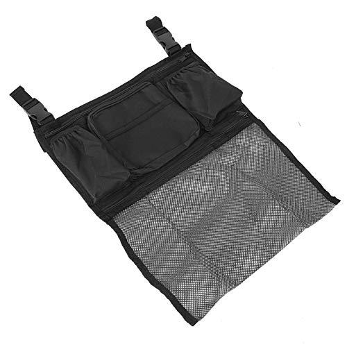 Bediffer Bolsa colgante para silla de ruedas, bolsa de ayuda de movilidad cómoda, ligera, conveniente para mujeres y hombres