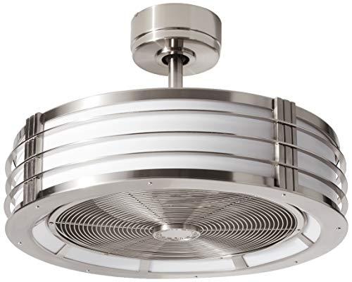 Fanimation FP7964BBN Beckwith Fan-Light Kit, 12-Inch, Brushed Nickel