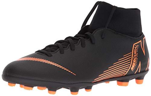 Nike Men's Footbal Shoes, Black Black Total Orange White...