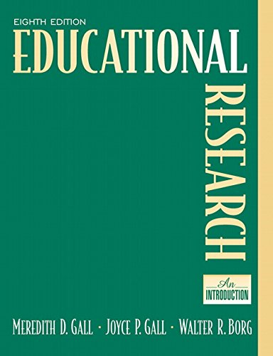 Educational Research: An Introduction (8th Edition)