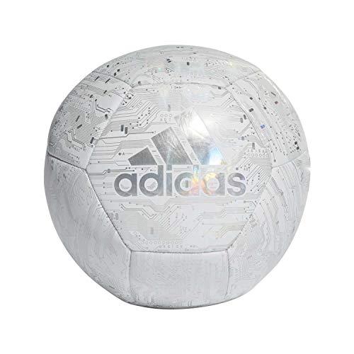 Adidas CPT, Pallone da Calcio Uomo, White/Rainbow Reflective, 5